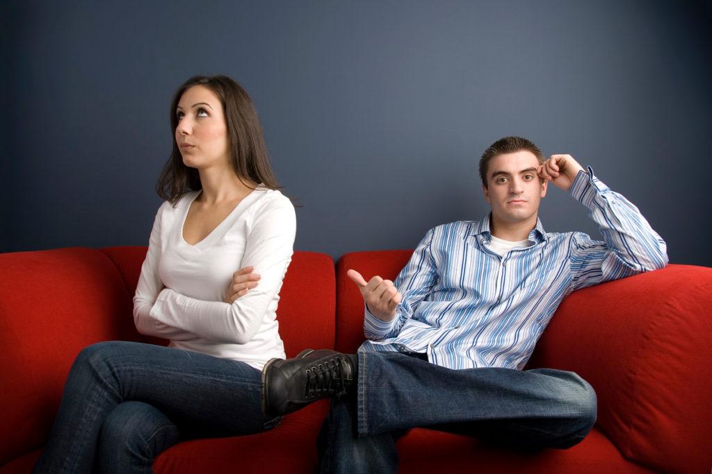 Неудовольствие в браке
